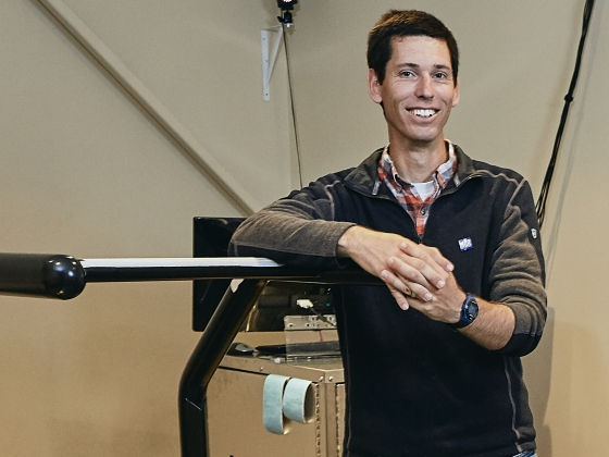 MSU professor who studies biomechanical aspects of runners' injuries recognized