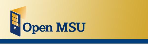 Montana State University OpenMSU