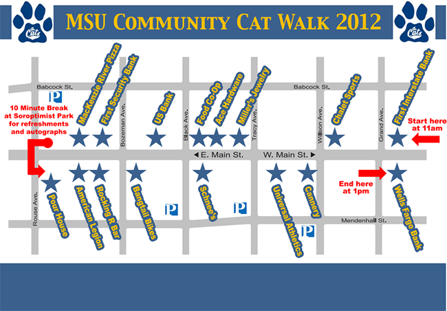 2012 Cat Walk Map