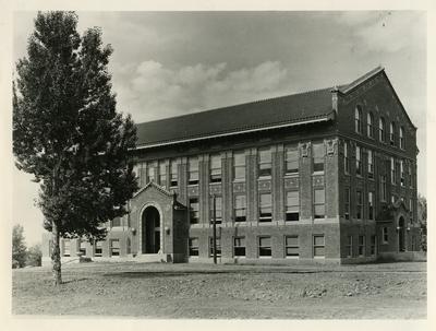 historic photo of Lewis Hall