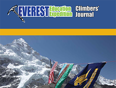 Everest Education Expedition Climbers' Journa