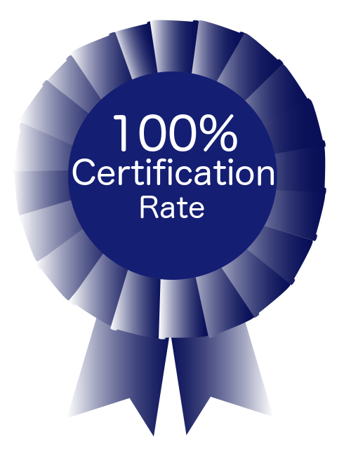 100 ribbon Certification