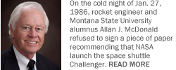 Engineer who warned of trouble before Challenger disaster to sign books today