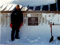 Dr. Seymour Pictured in Antarctica