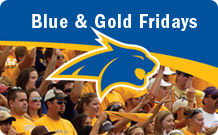 Blue and Gold Fridays!