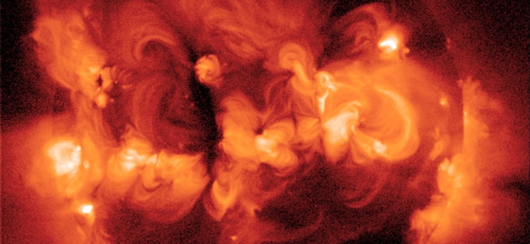 active regions on the Sun in X-ray