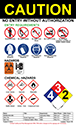 Hazard Warning Signage Example