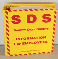 Safety Data Sheet Binder