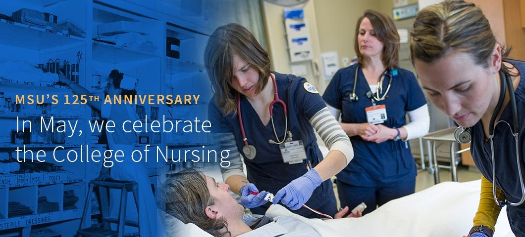 In May, we celebrate the College of Nursing