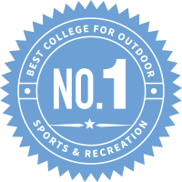 Number 1 University for Outdoor Sports & Recreation