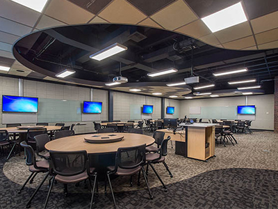 Cheever Hall TEAL classroom