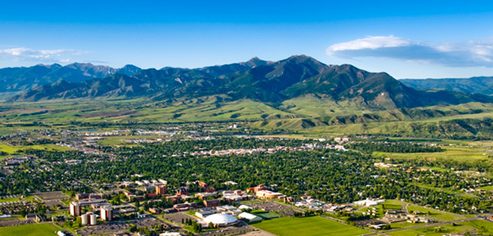 A view of Gallatin Valley