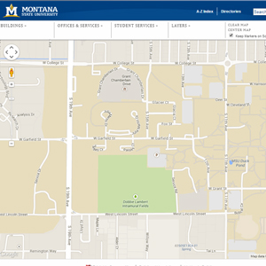 Online Campus Map