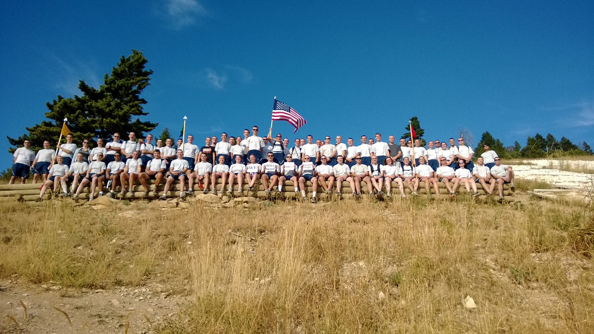 Cadets Hike the M
