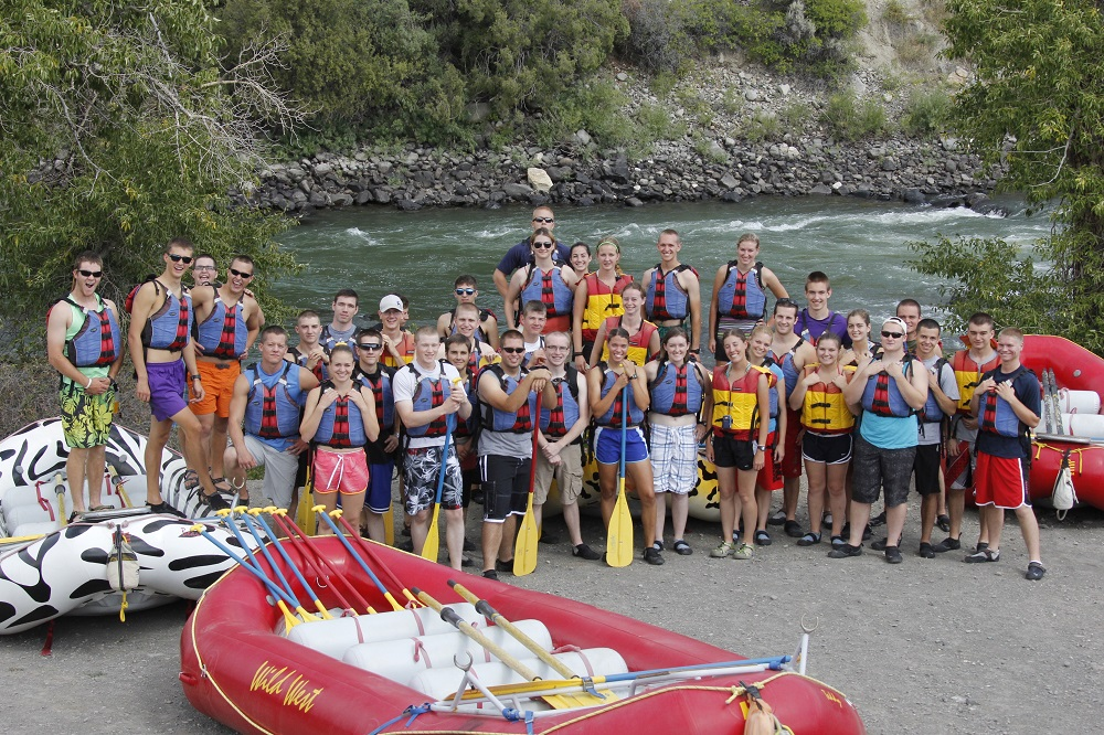Cadets Rafting