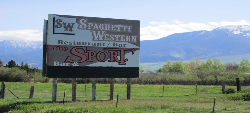 Spaghetti Western Billboord Image