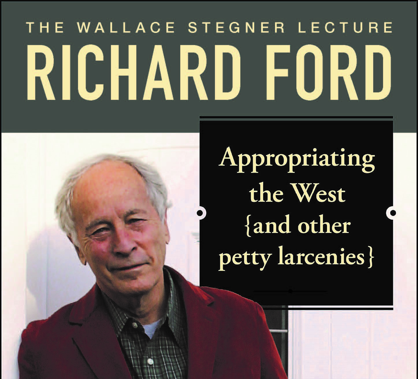 Richard Ford Event Poster