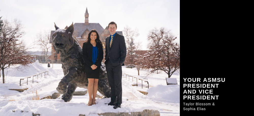 Your ASMSU President and Vice President