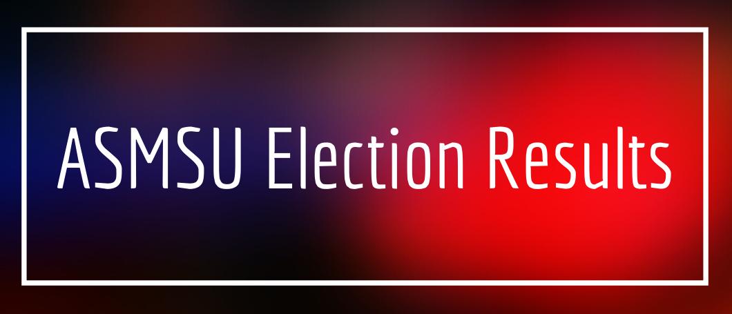 ASMSU election results