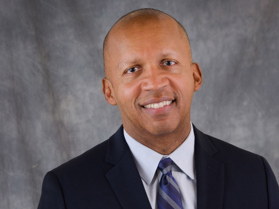 2017 Convocation speaker Bryan Stevenson |