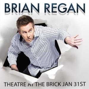 Brian Regan at the Brick, January 31st, 2015.