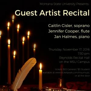 Guest Recital Poster