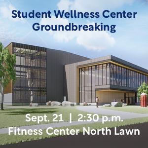 Design drawing of future Wellness Center