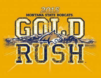Gold Rush T-shirt design.  
