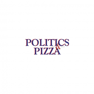 Politics & Pizza Logo