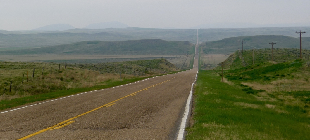Eastern Montana highway