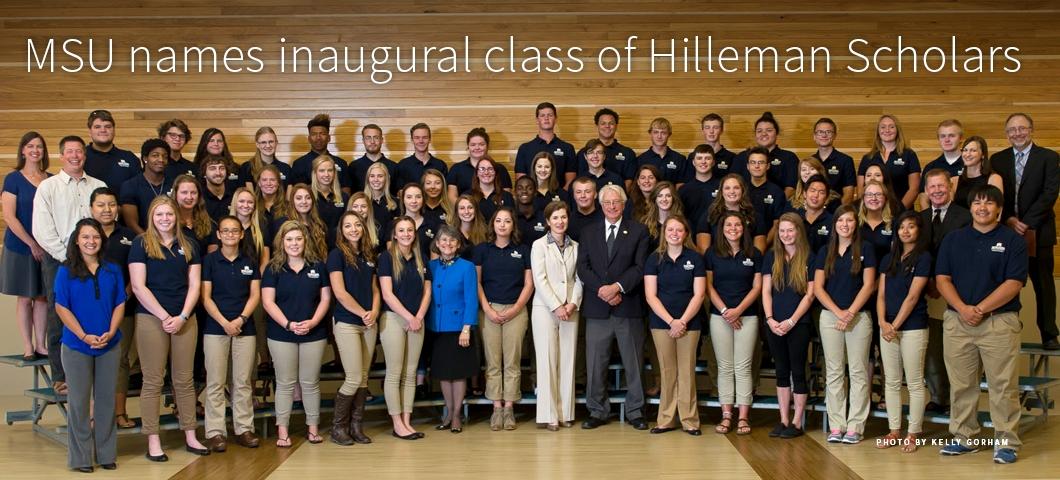 Inaugural class of Hilleman Scholars. |