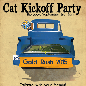 Cat Kickoff Party
