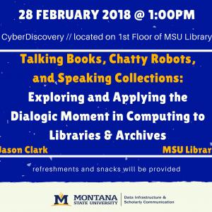 DISC Speaker Series Poster Jason Clark 28 February 2018