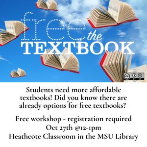 Free Textbooks?? A student conversation