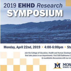 2019 EHHD Student Research Symposium