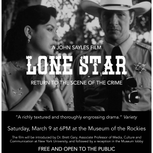 Lone Star Screening Poster