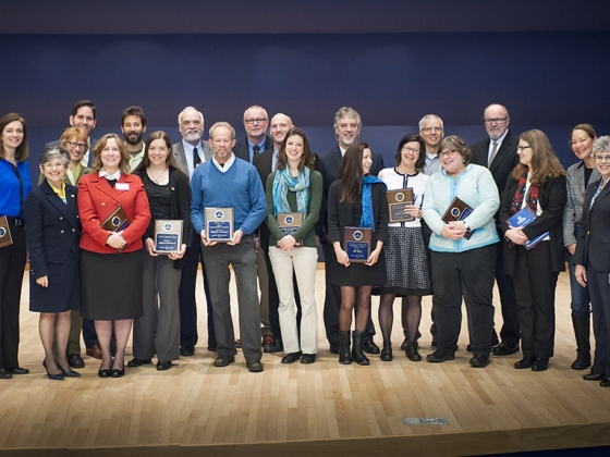 2015 Spring Convocation Faculty Award Winners