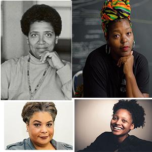 Collage of author photos
