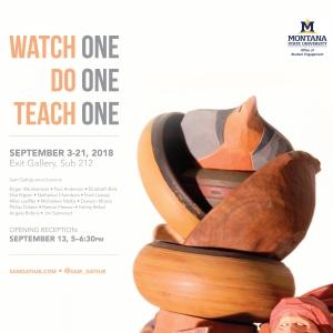 Watch One, Do One, Teach One