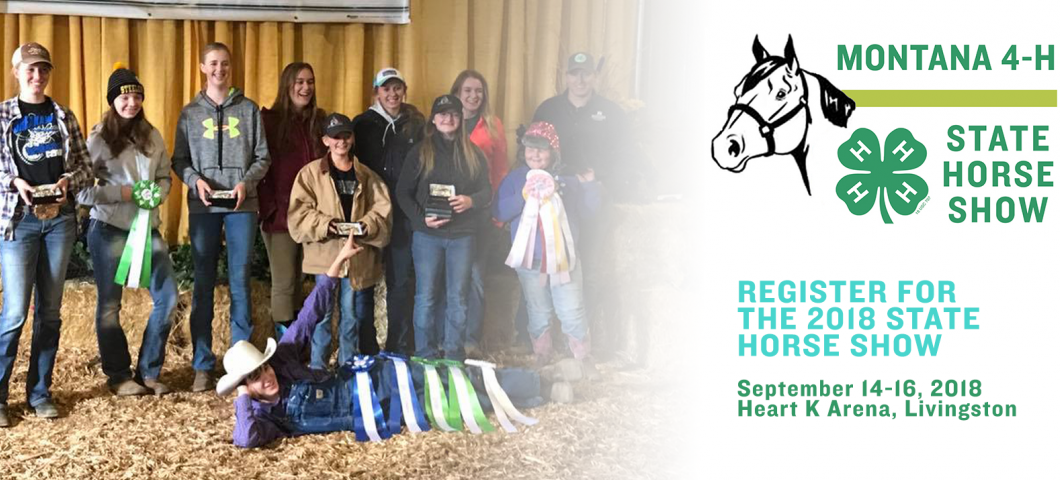 Montana 4-H State Horse Show 2018