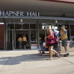 Volunteers assist incoming Montana State University students during the annual Move-In Day.