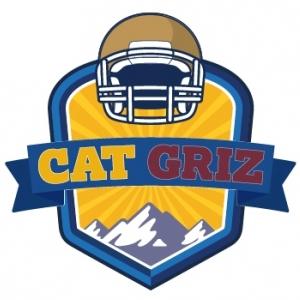 Bobcat Helmet with Cat/Griz text