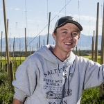 MSU Alum Jake TeSelle Receives Grant for Hops Farm | MSU Photo by Adrian Sanchez-Gonzalez