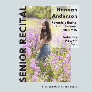 Hannah Anderson Senior Recital
