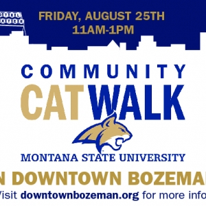 The 8th annual Community Cat Walk will take place on August 25 from 11 a.m. to 1 p.m.  on Main Street in downtown Bozeman