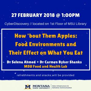 DISC Speaker Series Poster Ahmed and Byker Shanks 27 February 2018
