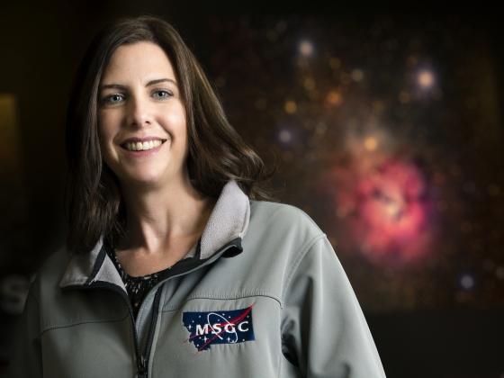 Montana Space Grant Consortium director Angela Des Jardins   MSU photo by Kelly Gorham