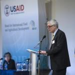 Robert Bertram, chief scientist for USAID's Bureau for Food Security