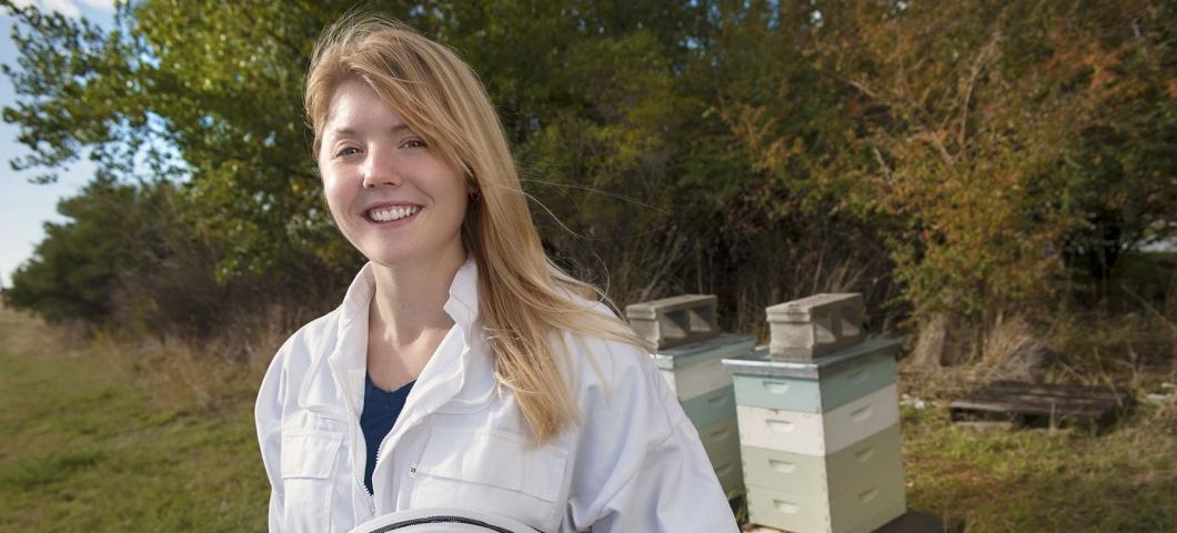 MSU grad student Laura Brutscher