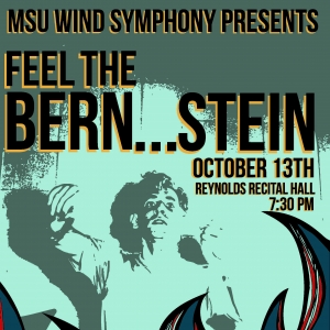 Feel the Bernstein Concert Poster